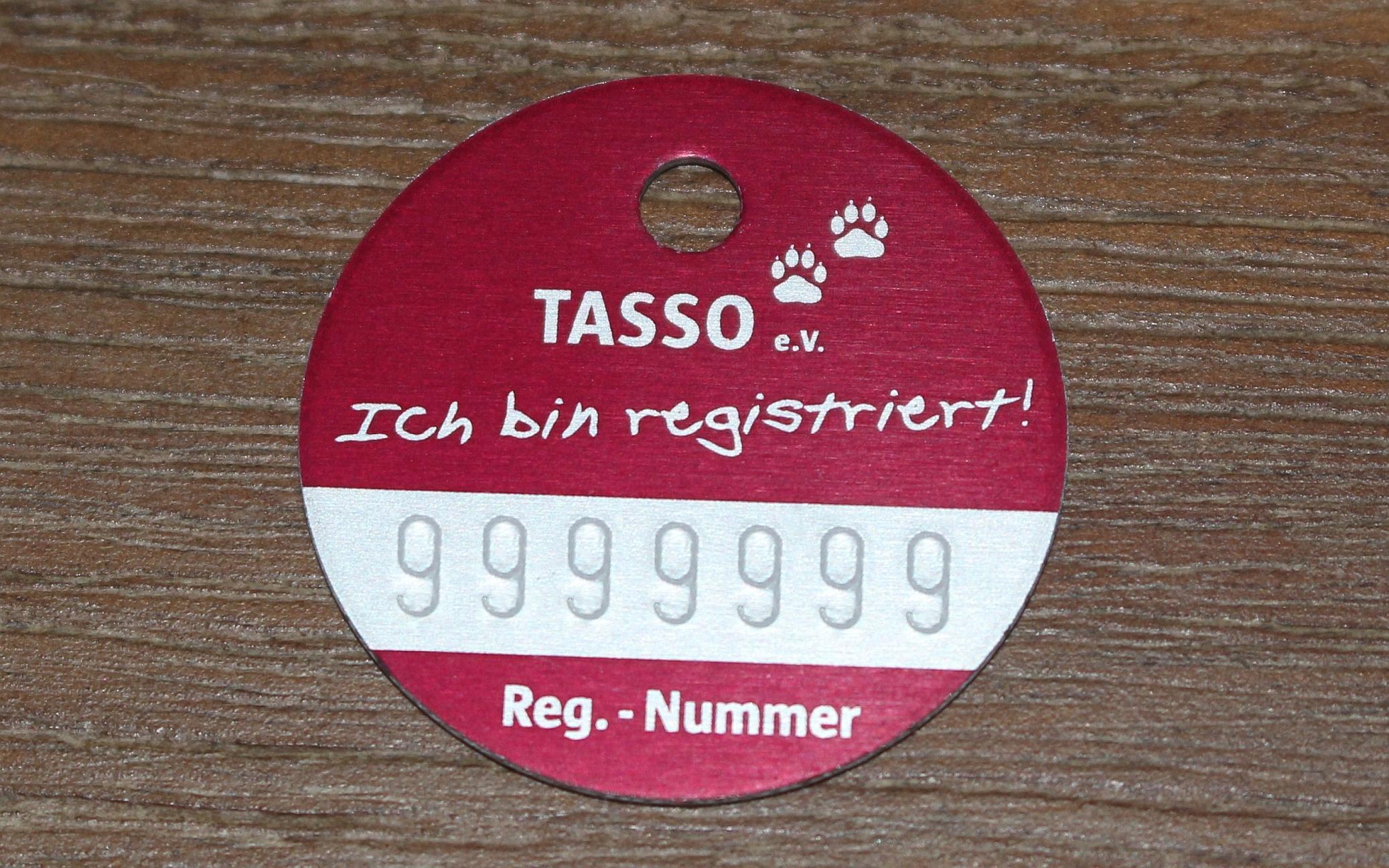 tasso registrierung ändern